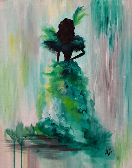 A Miss OHara paint nite project by Yaymaker