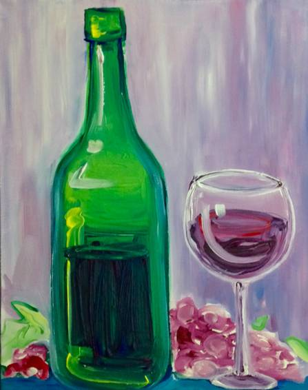 A Bottle of Red paint nite project by Yaymaker