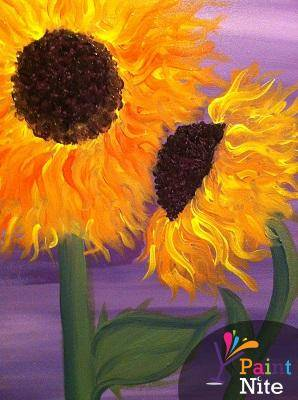A Sunflower 6 paint nite project by Yaymaker