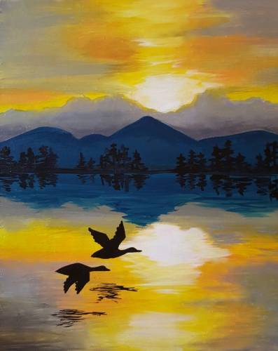 A Duck Daydream paint nite project by Yaymaker