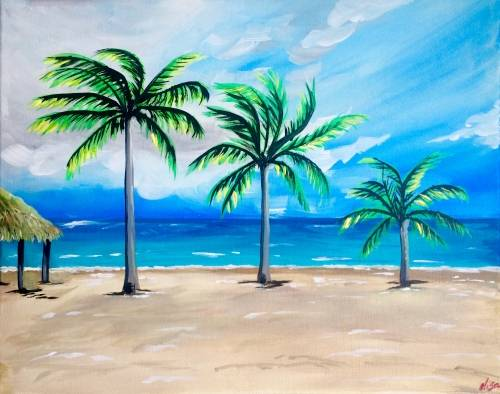 A Runaway Bay paint nite project by Yaymaker