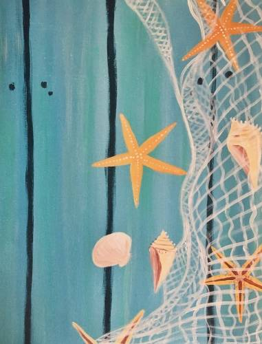 A Starfish Dock paint nite project by Yaymaker