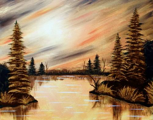 A Orange Lake paint nite project by Yaymaker