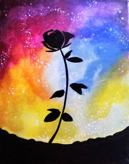 A Stellar Rose paint nite project by Yaymaker