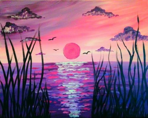 A Lavender Lookout paint nite project by Yaymaker