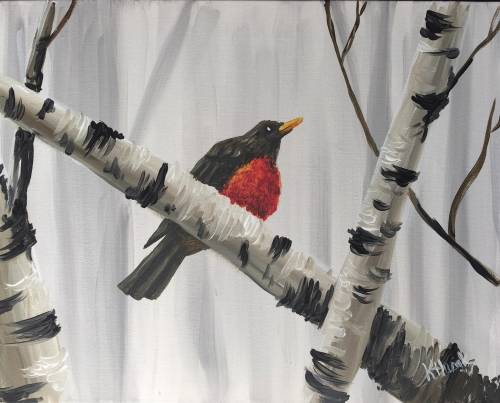 A First Sign of Spring III paint nite project by Yaymaker