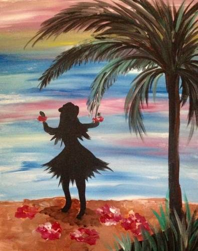A Get Leid paint nite project by Yaymaker