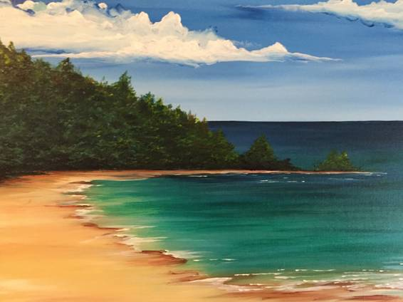 A The Cove paint nite project by Yaymaker