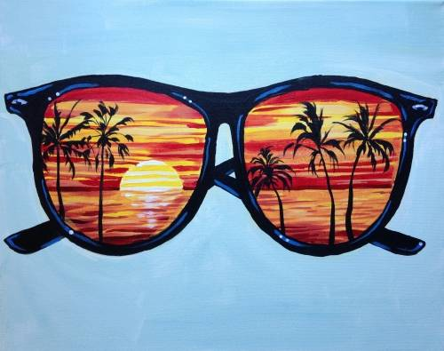 A Endless Summer II paint nite project by Yaymaker