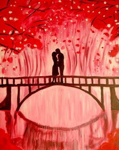 A Scarlet Bridge paint nite project by Yaymaker