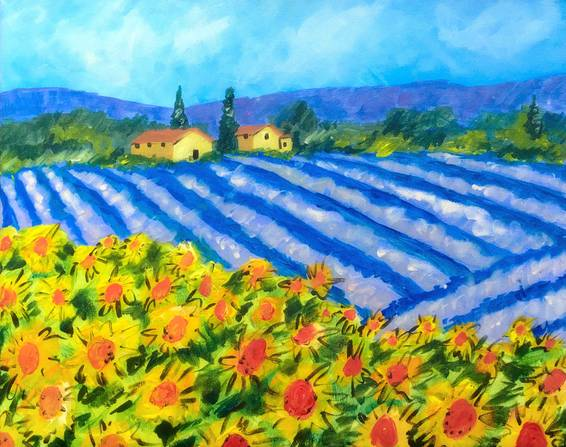 A A Van Gogh Tribute paint nite project by Yaymaker