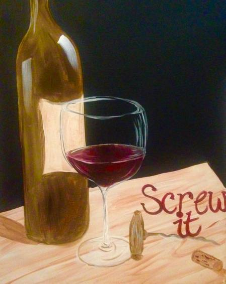 A Screw It paint nite project by Yaymaker