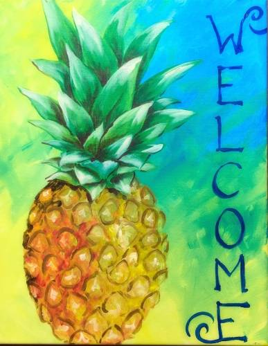 A Pineapple Hospitality paint nite project by Yaymaker