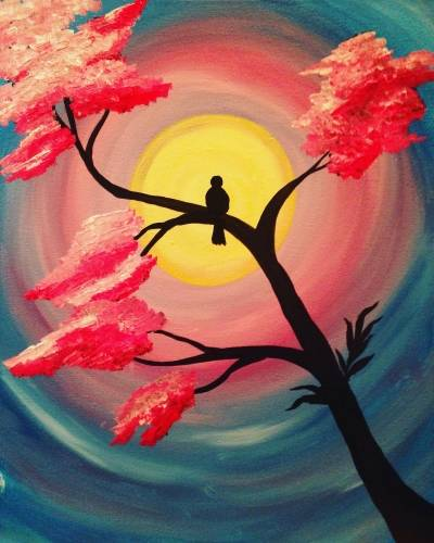 A Its Going To Be May paint nite project by Yaymaker