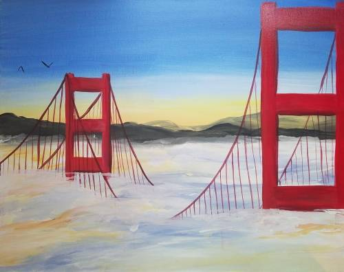 A Bridge Above the Fog paint nite project by Yaymaker