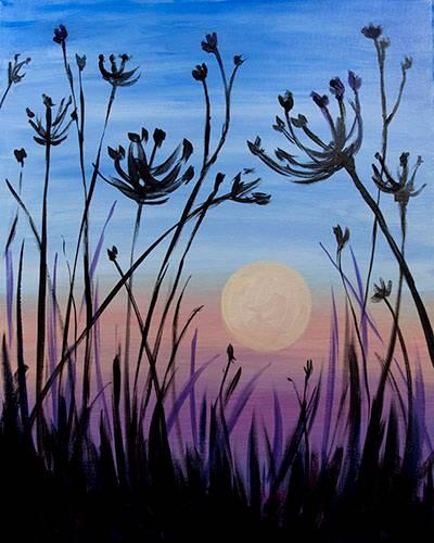 A Dusk Meditation paint nite project by Yaymaker