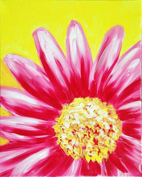A Tickled Pink II paint nite project by Yaymaker