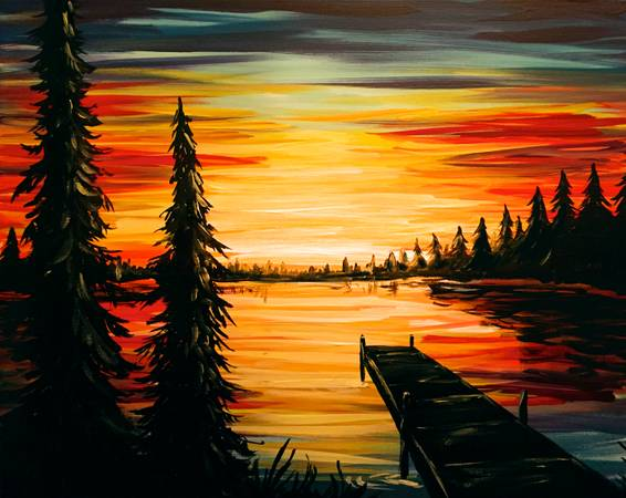 A Cottage Life paint nite project by Yaymaker