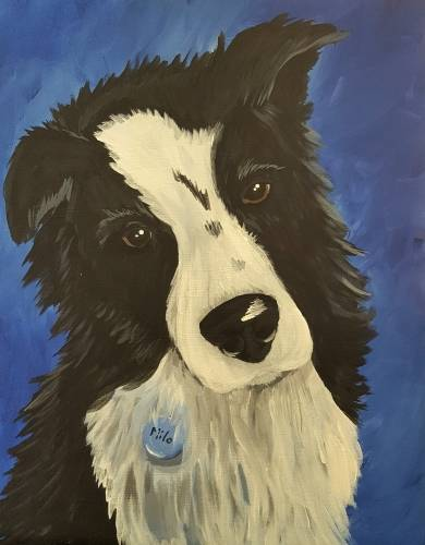 A Paint Your Pet paint nite project by Yaymaker