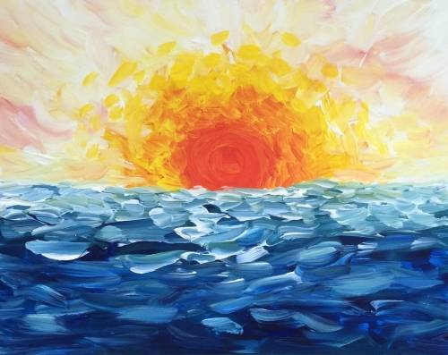 A Ocean Fire paint nite project by Yaymaker