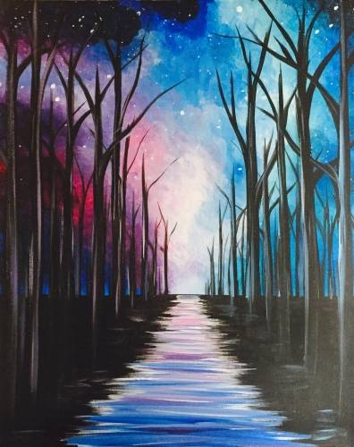 A Pathway To The Galaxy paint nite project by Yaymaker