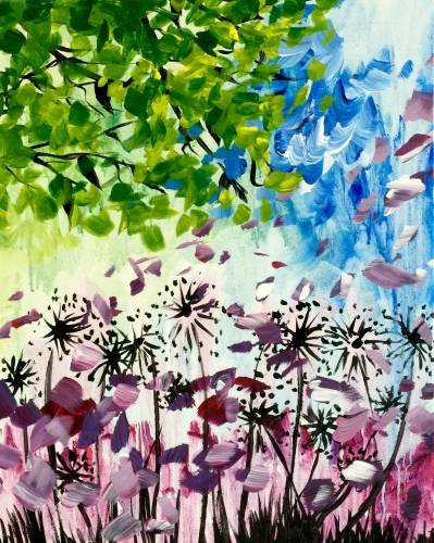 A Wind Colors paint nite project by Yaymaker