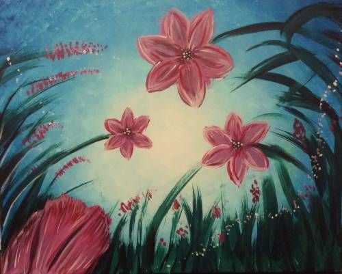 A Lilly Dream paint nite project by Yaymaker
