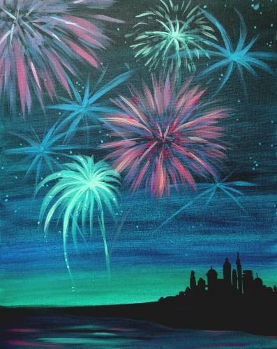 A BOOM paint nite project by Yaymaker
