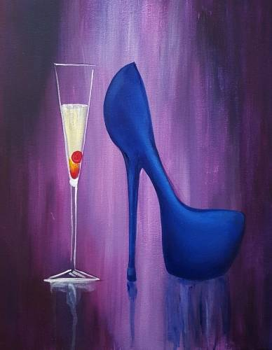 A The Socialite paint nite project by Yaymaker