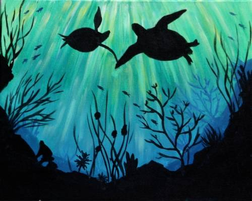 A Sea of Love III paint nite project by Yaymaker