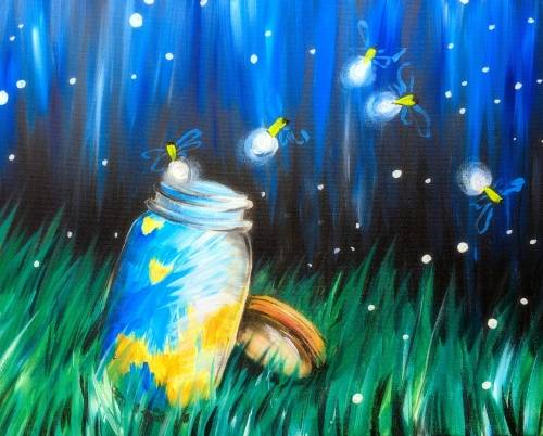 A The Great Firefly Escape paint nite project by Yaymaker