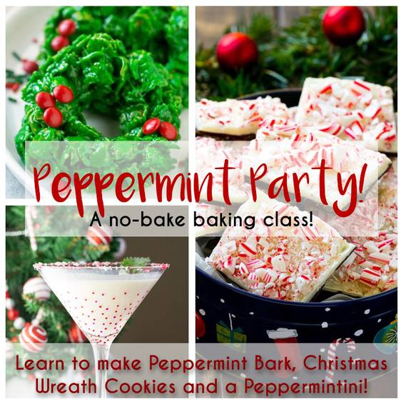 A Peppermint Party A NoBake Baking Class experience project by Yaymaker