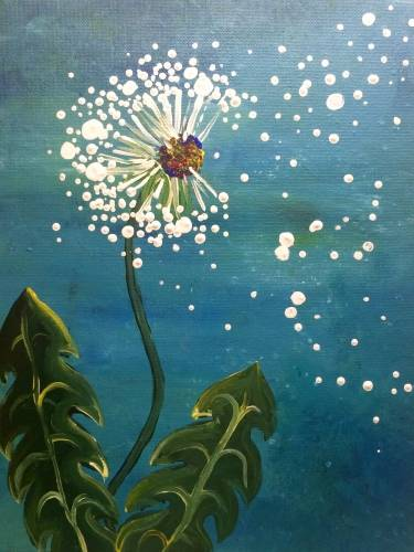 A Make A Wish II paint nite project by Yaymaker
