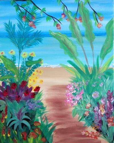 A The Path To Paradise paint nite project by Yaymaker