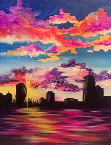 A Starburst Summer paint nite project by Yaymaker