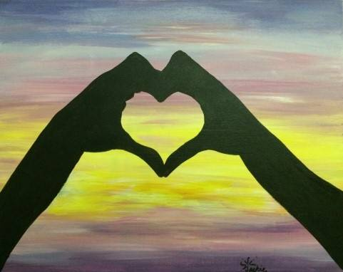 A SUMMER LOVE II paint nite project by Yaymaker