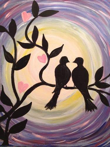 A Date Night paint nite project by Yaymaker