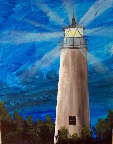 A Lite Bright paint nite project by Yaymaker