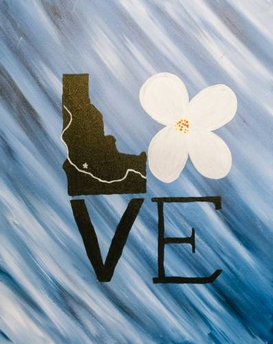 A Idaho Love paint nite project by Yaymaker