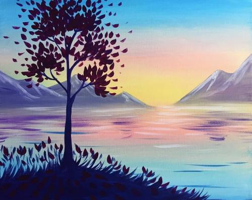 A Morning Bliss paint nite project by Yaymaker