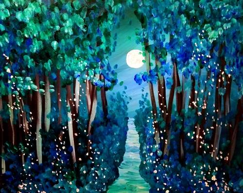 A Emerald Woods paint nite project by Yaymaker