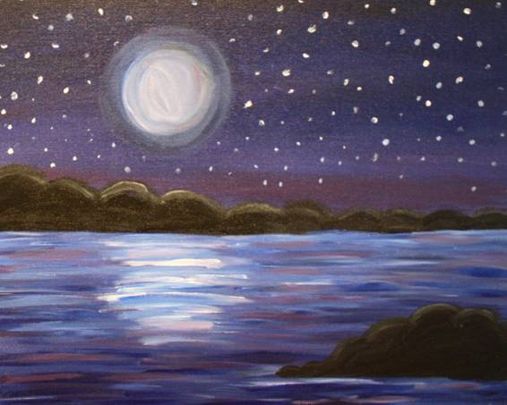 A Moonriver paint nite project by Yaymaker