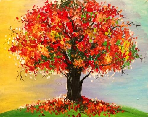 A Standing alone paint nite project by Yaymaker