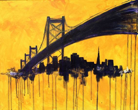 A Drippy SF paint nite project by Yaymaker