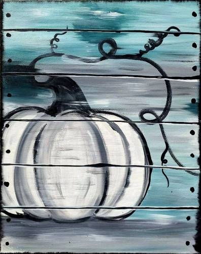 A The Crate Pumpkin paint nite project by Yaymaker