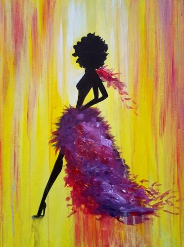 A Miss Muse paint nite project by Yaymaker