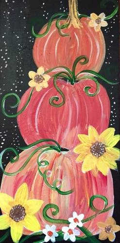 A Fall Harvest 10x20 paint nite project by Yaymaker