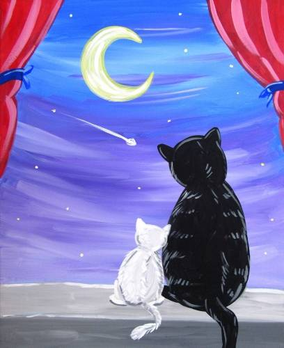 A A Mothers Wish paint nite project by Yaymaker