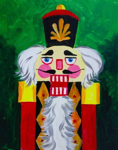 A The Nutcracker paint nite project by Yaymaker