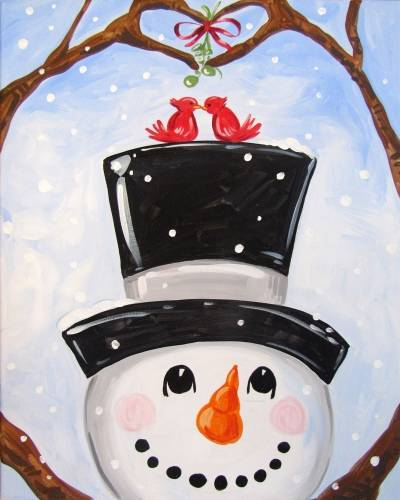 A Season of Giving and Loving paint nite project by Yaymaker
